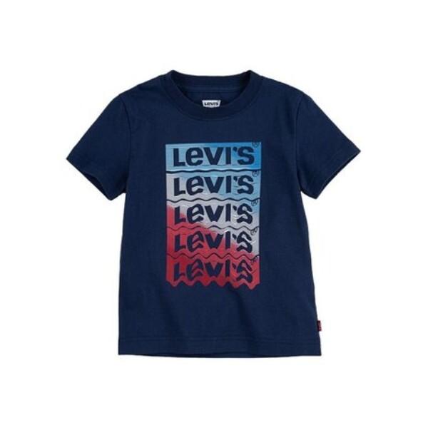Bilde av LEVI`S - T-SKJORTE GRAPHIC DRESS BLUES