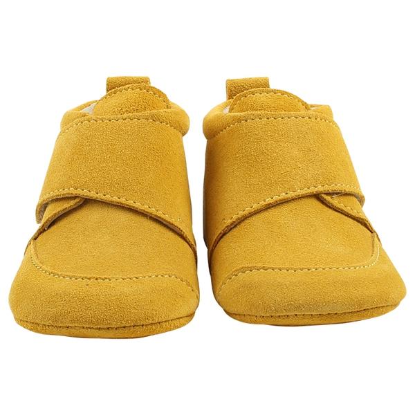 Bilde av En Fant - Tøfler Velcro Plain Yellow