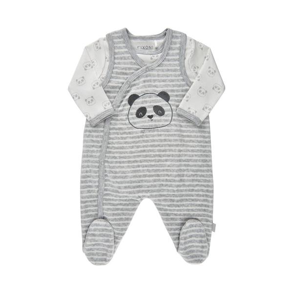 Bilde av Fixoni - Sett, Body & Sparkebukse Panda