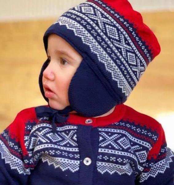 Bilde av MARIUS KIDS - MARIUS ULL LUE BABY MØRKEBLÅ