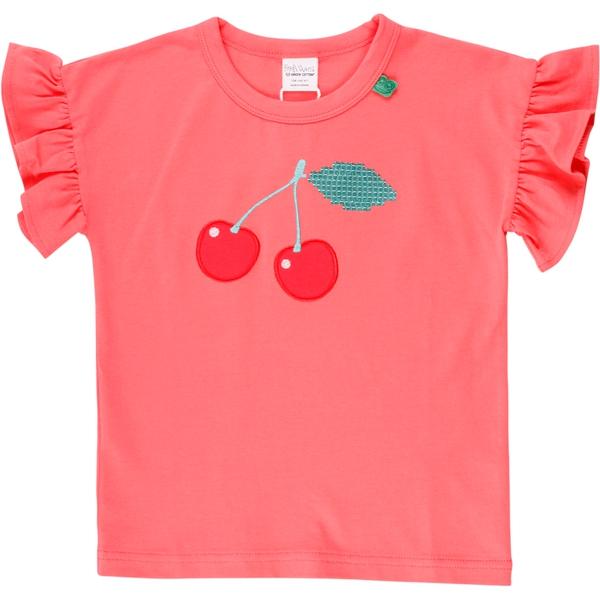 Bilde av Fred's World - T-skjorte Hello Cherry Coral