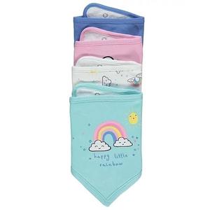 Bilde av 4pk myke smekker - Happy Little Rainbow