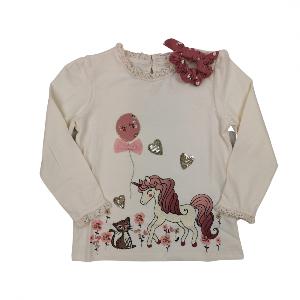 Bilde av Detaljerik genser med matchende scrunchie -