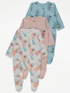 Bilde av 3pk pysjamas - Minnie Mus
