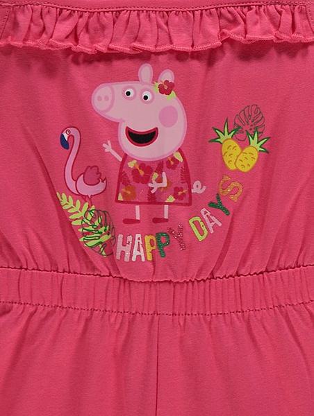 2pk sommerdrakt - Peppa Gris - Happy days