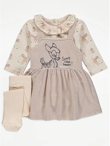 Bilde av Tredelt kjolesett - Sweet like Bambi