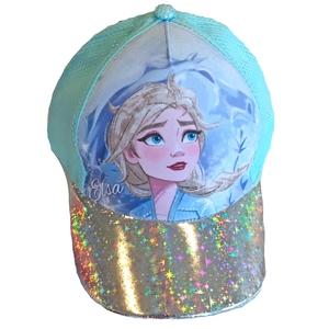 Bilde av Caps med shimmerdetaljer - Frost - Elsa - Turkis