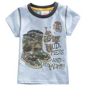 Bilde av T-skjorte - I love mud, mess and my mum!