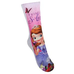 Bilde av 1pk sokker - Prinsesse Sofia - Rosa