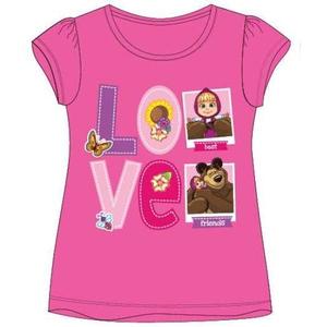 Bilde av T-skjorte - Masha og Mishka - Rosa