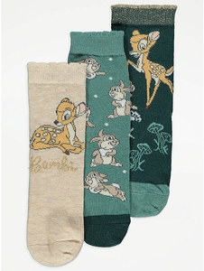 Bilde av 3pk sokker - Bambi og Trampe