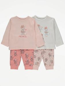 Bilde av 2pk pysjamas - Minnie Mus - Pretty little one