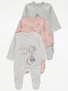 Bilde av 3pk pysjamas - Dumbo - Special delivery