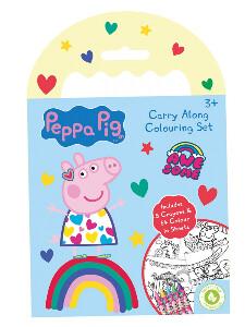 Bilde av Tegnebok og farger - Peppa Gris