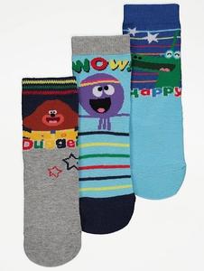 Bilde av 3pk sokker - Kembo - Happy