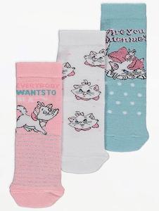 Bilde av 3pk sokker - Aristokattene - Everybody wants to