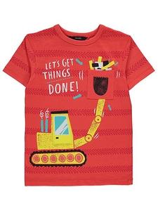 Bilde av T-skjorte - Gravemaskin - Let's get things done