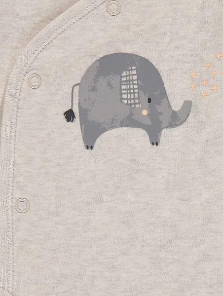 3pk body - Elefant - Sand