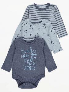Bilde av 3pk body - Cuddles with you make me smile
