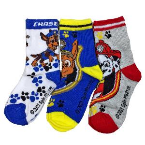 Bilde av 3pk sokker - Paw Patrol - Chase og Marshall