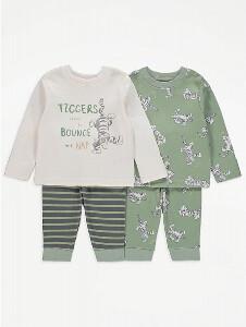 Bilde av 2pk pysjamas - Tigergutt - Tiggers like to bounce