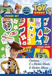 Bilde av Klistremerker og album - Toy Story 4