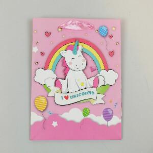 Bilde av Liten gavepose - I Love Unicorns