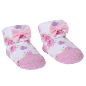 Bilde av Sokker i gavepose - Blomster