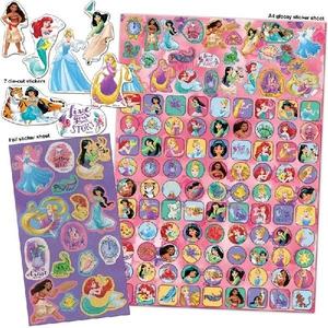 Bilde av 150 klistremerker - Disneyprinsesser