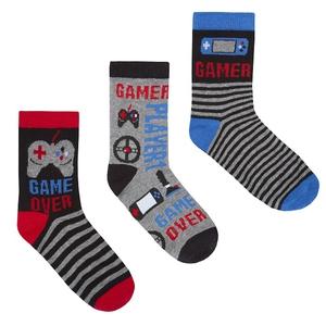 Bilde av 3pk sokker - Game over