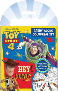 Bilde av Tegnebok og farger - Toy Story 4