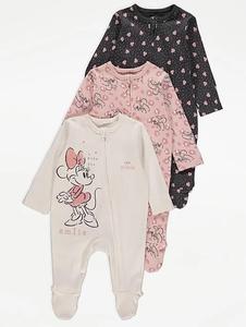 Bilde av 3pk pysjamas - Minnie Mus - Love Minnie