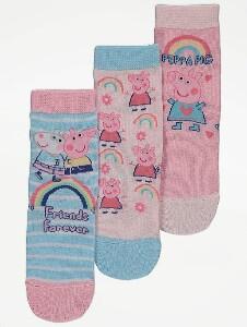 Bilde av 3pk sokker - Peppa Gris - Friends Forever