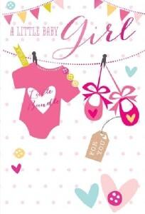 Bilde av Kort - A little Baby Girl