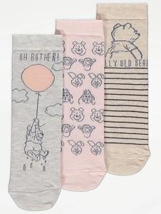 Bilde av 3pk sokker - Ole Brumm - Oh bother!