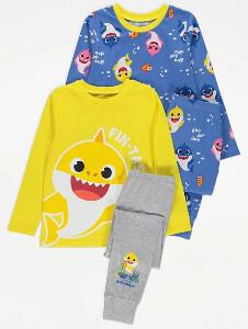 Bilde av 2pk pysjamas - Baby Shark