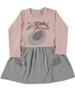 Bilde av Kjole med paljetter - Little Princess