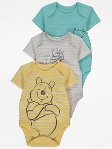 Bilde av 3pk body - Ole Brumm - Happy Little Pooh Bear