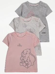 Bilde av 3pk t-skjorte - Dumbo - So happy