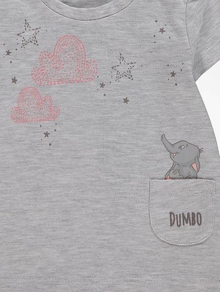 3pk t-skjorte - Dumbo - So happy