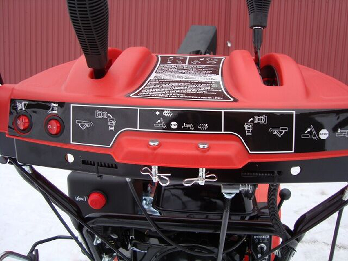 Snowpro 13 hk beltesnøfreser