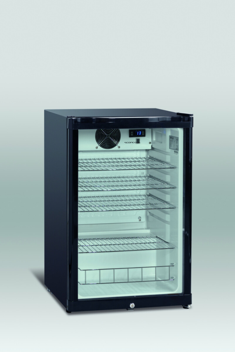 Scandomestic displaykjøleskap DKS 142