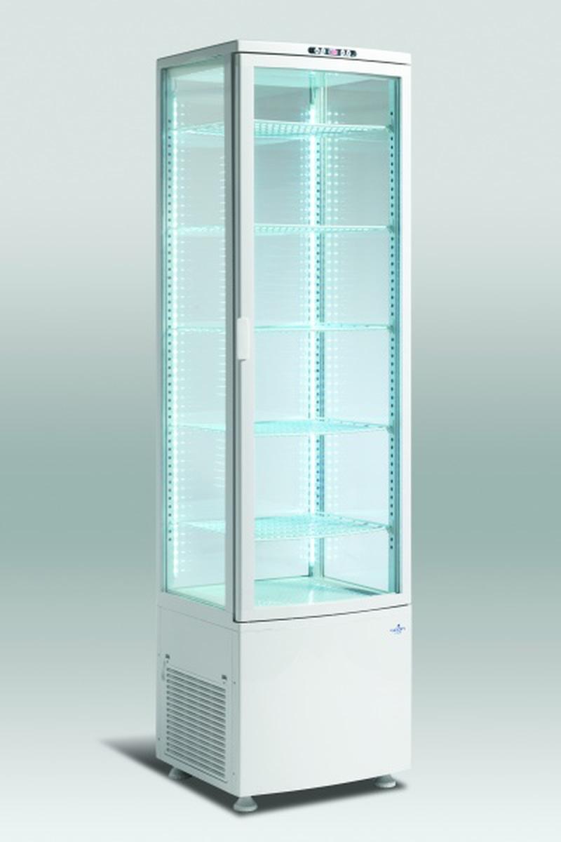 Scandomestic displaykjøleskap med 4 glass sider 189,5 cm