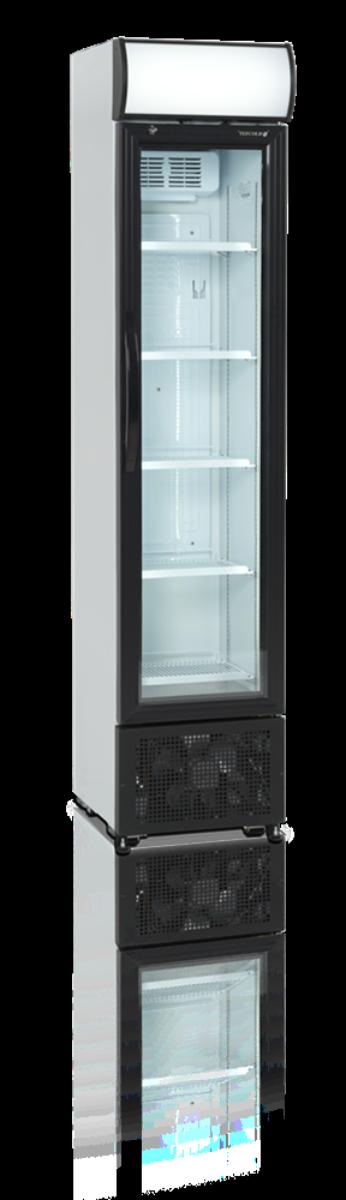 Tefcold display kjøleskap hvit 201 cm FSC175H