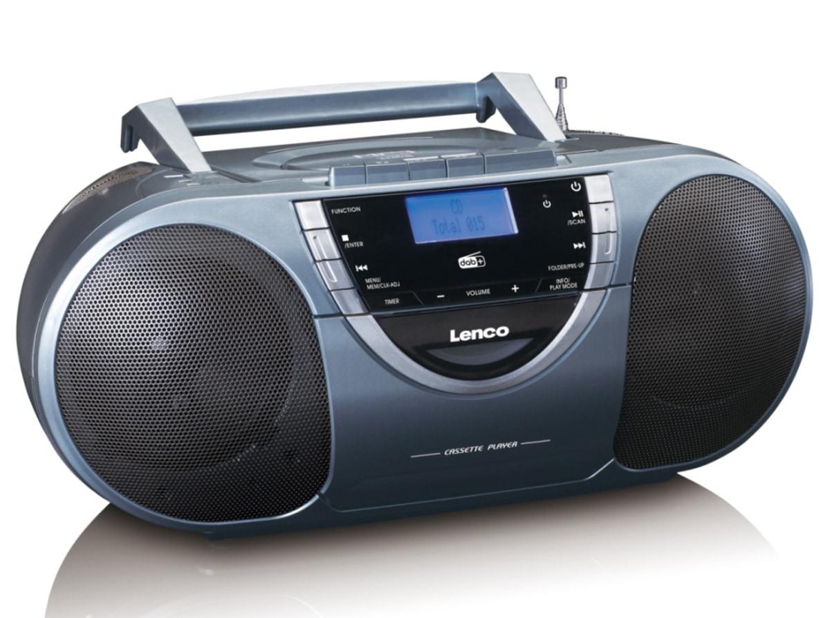 Lenco kassettspiller DAB/CDSCD 6800 12 Volt blå