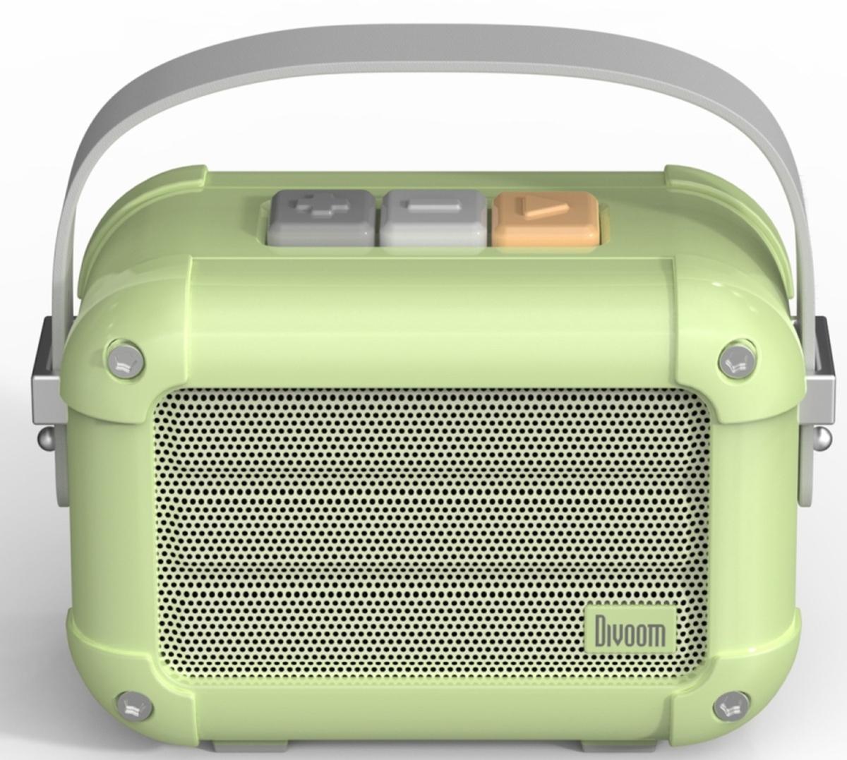Divoom Macchiato blåtann-høyttaler grønn TWS 6w301003