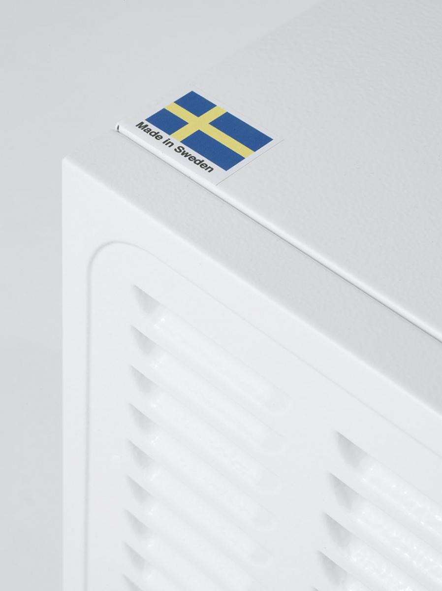 Woods avfukter SW-42FM stål laget i Sverige