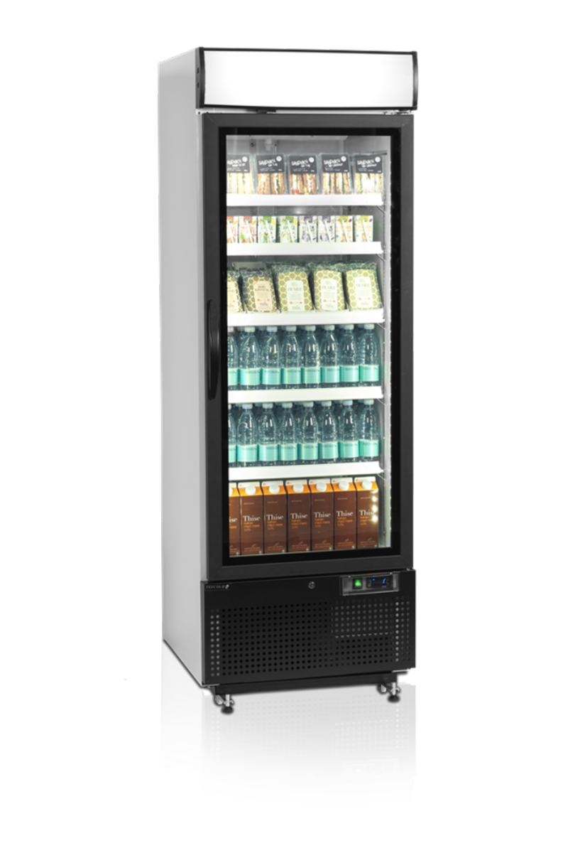 Tefcold display kjøleskaphvit 199 cmNC2500