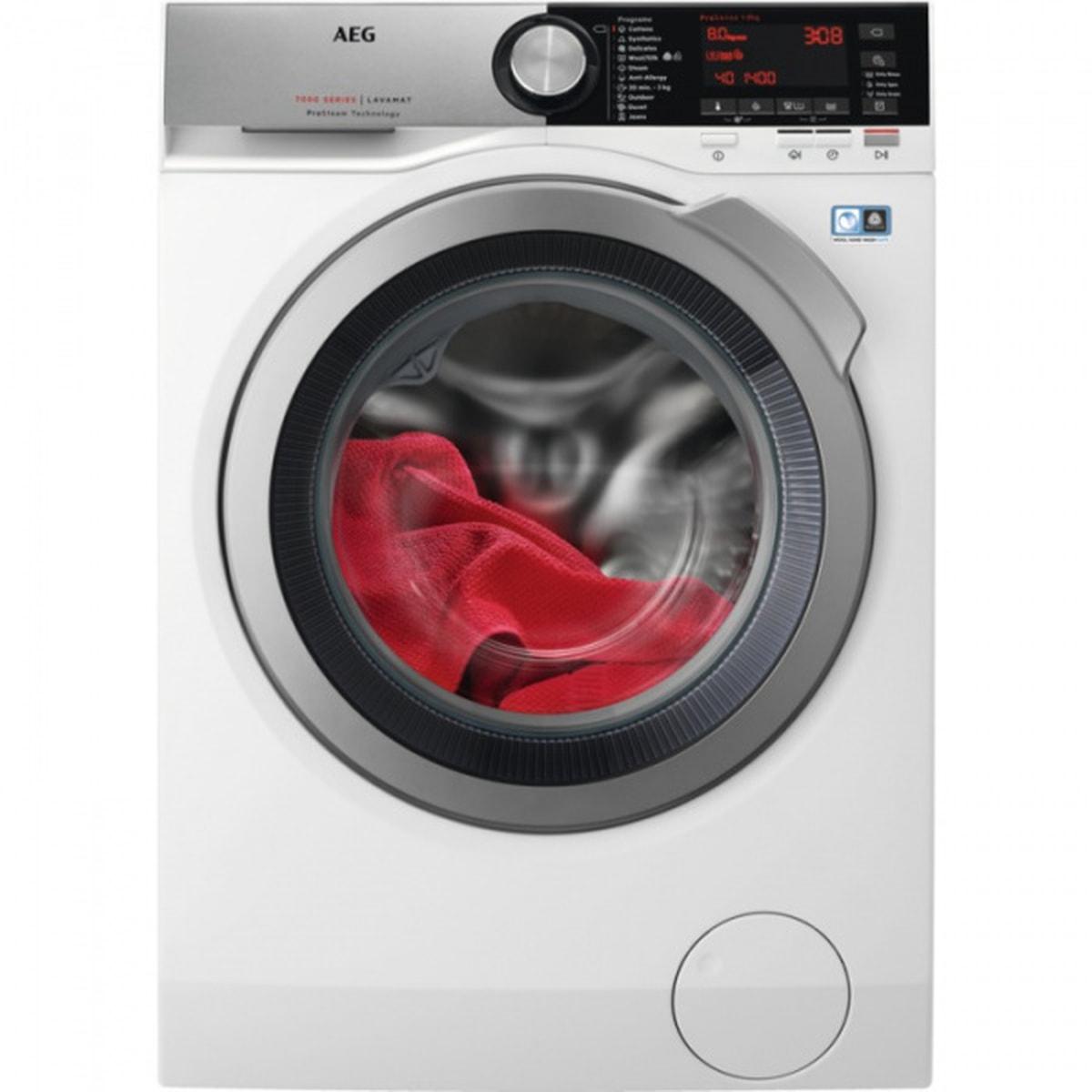 AEG vaskemaskin med dampprogram 8 kg 1600 omdr L7FER862C