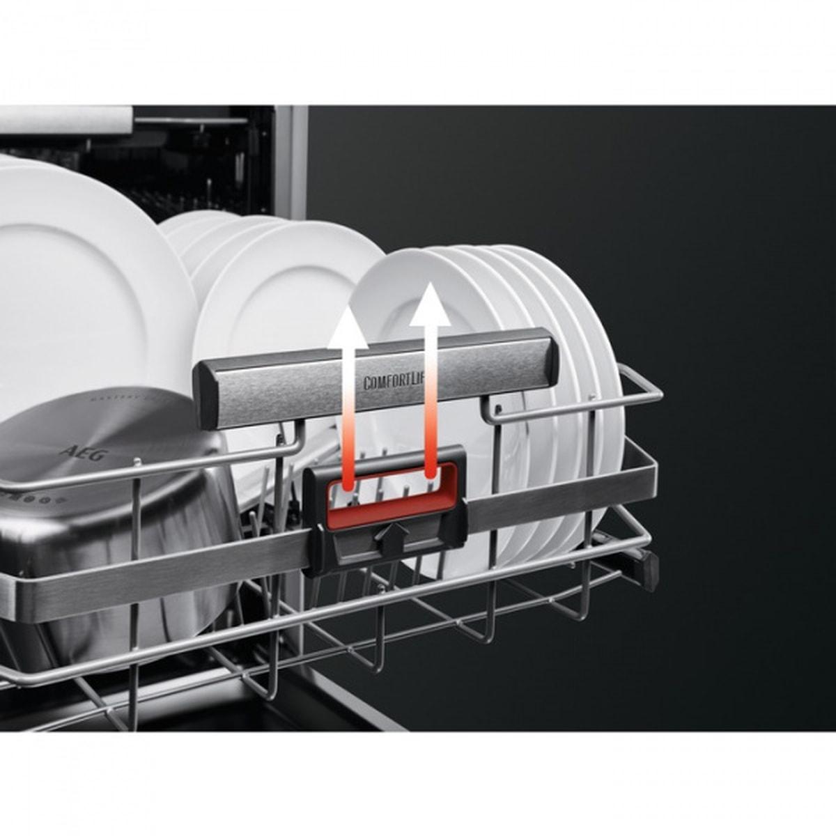 AEG oppvaskmaskin rustfritt stål FFB63806PM